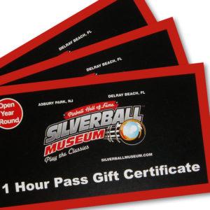 Silverball PInball Museum One Hour Pass - Asbury Park NJ