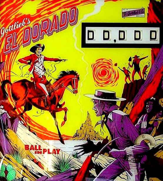El Dorado Gottlieb Pinball