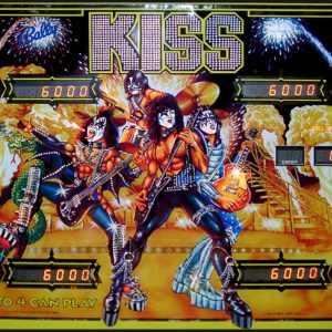 KISS German Pinball Machine