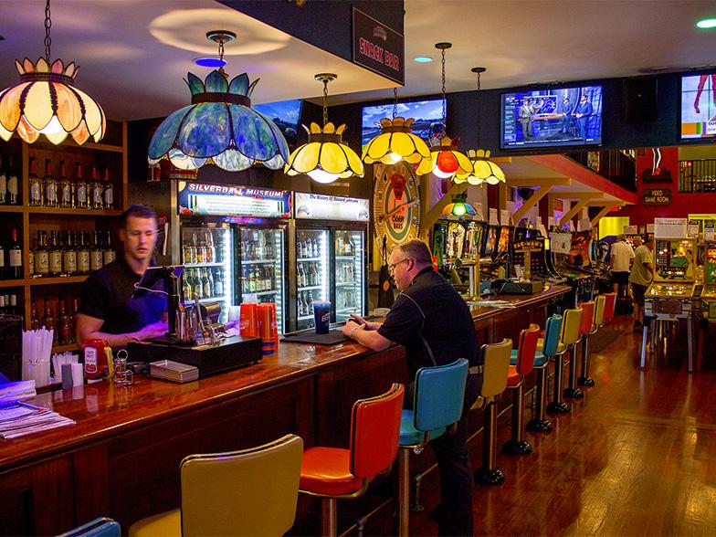 Silverball Bar Seating Pinball News