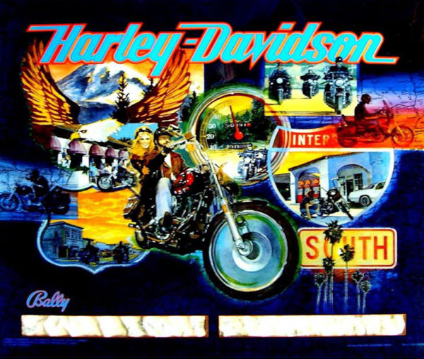 Harley Davidson Pinball Machine - Bally