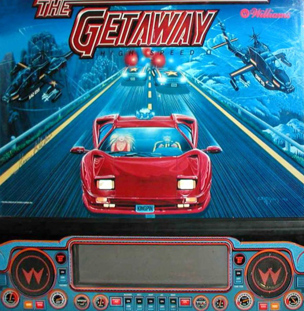 High Speed II - The Getaway