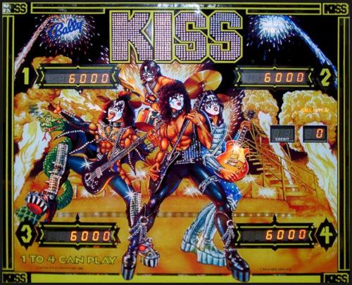KISS German Pinball Machine
